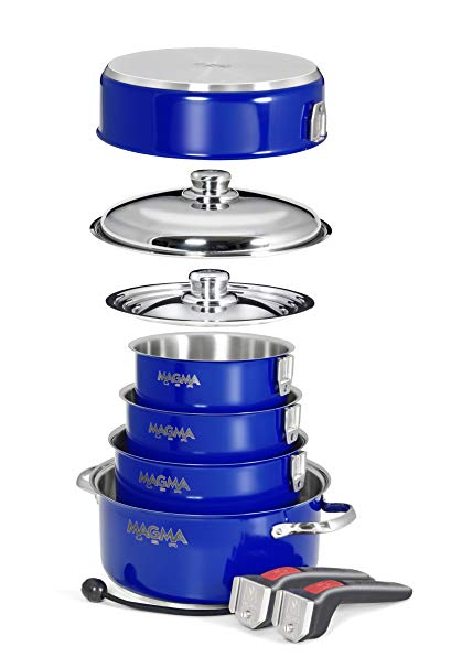 Magma Nestable 10 Piece Stainless Steel Cookware